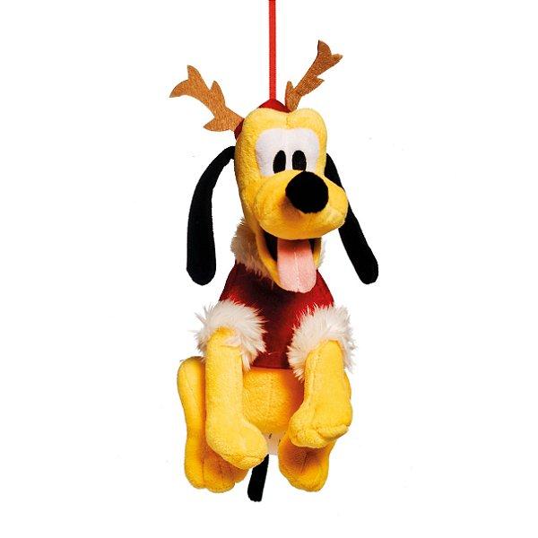 Pluto de Pelúcia 15cm - 01 unidade Natal Disney - Cromus Natal - Rizzo Embalagens