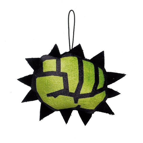 Enfeite para Pendurar Punho do Hulk Avengers 10cm - 01 unidade - Cromus Natal - Rizzo
