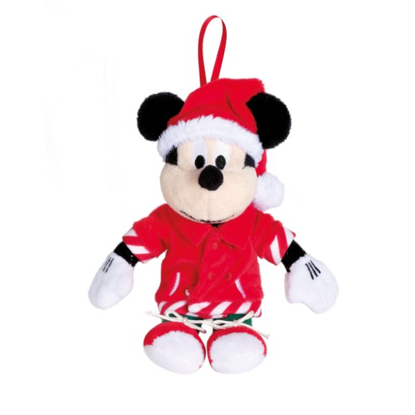 Mickey Pelúcia Camiseta com Bolso 15cm Natal Disney - Cromus Natal - Rizzo Embalagens