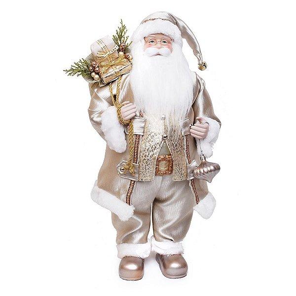 Noel Roupa Nude com Presente 62cm - 01 unidade - Cromus Natal - Rizzo Embalagens