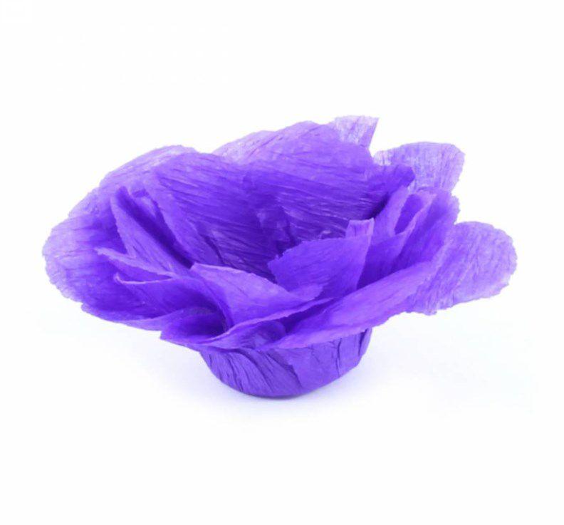 Forminha para Doces Finos - R82 Crepom Violeta - 40 unidades - MaxiFormas