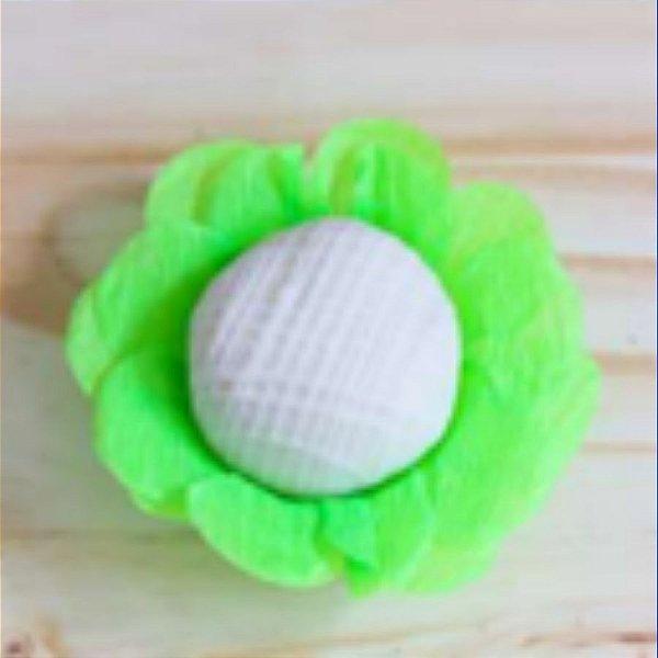 Forminha para Doces Finos - R82 Crepom Neon Verde - 40 unidades - MaxiFormas