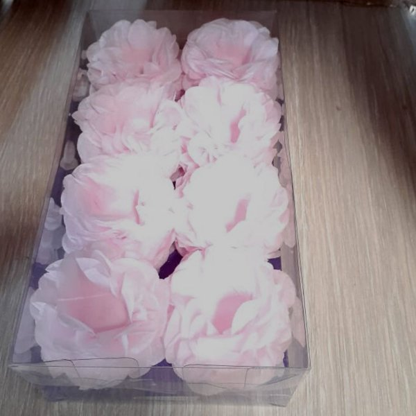 Forminha para Doces Finos - R82 Candy Color Crepom Rosa - 40 unidades - MaxiFormas
