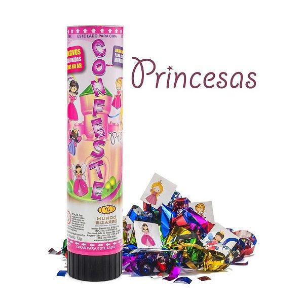 Confeste kids Adesivos Princesas- 21 cm - Mundo Bizarro