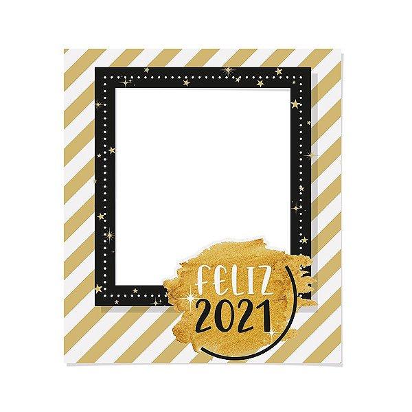 Painel para Foto Feliz Ano Novo - 01 unidade - Cromus Reveillon - Rizzo Embalagens