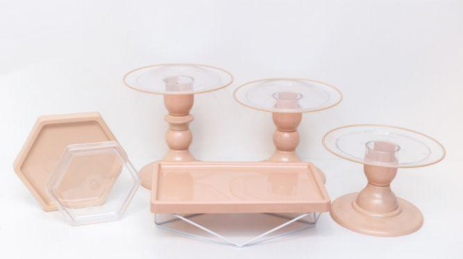 Kit Comemore MAIS Clean - 30 Nude - 01 Unidade - Só Boleiras - Rizzo Festas