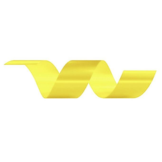 Rolo Fita Lisa Amarelo - 30mm x 50m - EmFesta - Rizzo Embalagens
