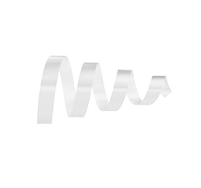 Rolo Fita Lisa Branco - 15mm x 50m - EmFesta - Rizzo Embalagens