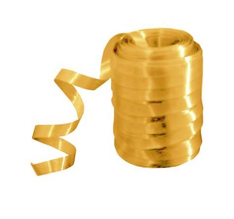 Rolo Fitilho Dourado - 5mm x 50m - EmFesta - Rizzo Embalagens