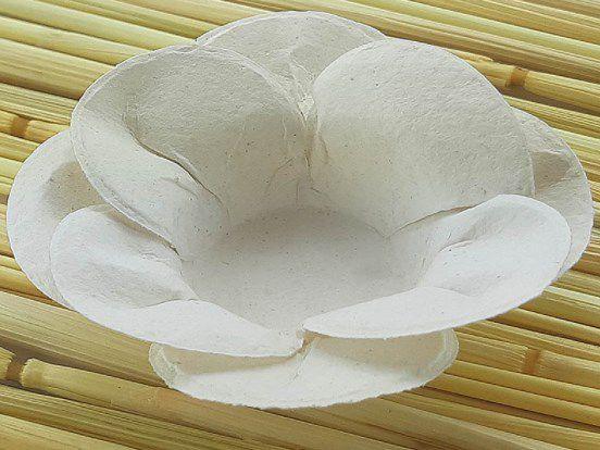Forminha para Doces Floral Leka Colorset Branco - 40 unidades - Decorart - Rizzo Embalagens