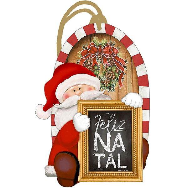 Decor Home Tag Natal - Feliz Natal - DHTN-001 - LitoArte Rizzo Embalagens