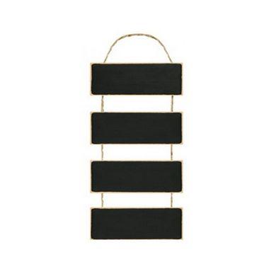 Placa Lousa em MDF com Cordão de Juta- DHLO8-003 - LitoArte - Rizzo Embalagens