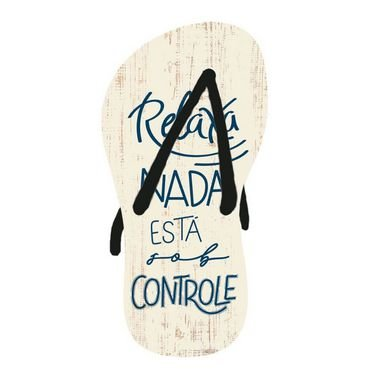 Decor Home Tag 2 - Chinelo - DHT2-171 - LitoArte Rizzo Embalagens