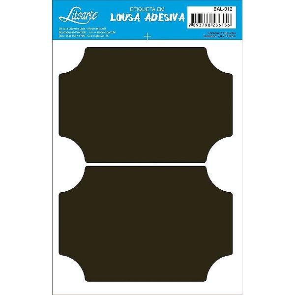 Etiqueta Lousa Adesiva em Vinil - Liso G - EAL-012 - LitoArte - Rizzo Embalagens