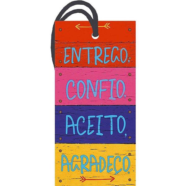 Decor Home Tag 2 Entrego, Confio, ...  DHT2-010 - Litoarte - Rizzo Embalagens