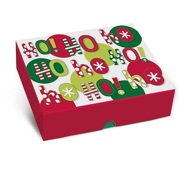 Caixa para Presente Tampa e Fundo - Alegria - Cromus - Rizzo Embalagens e Festas