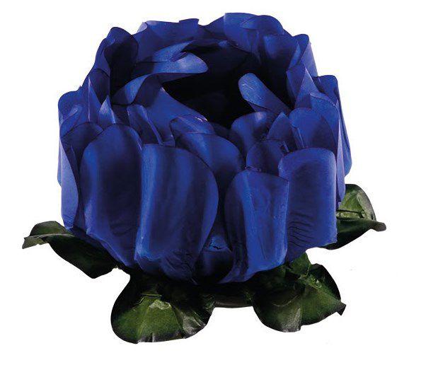 Forminha para Doces Finos - Rosa Maior Azul Royal - 40 unidades - Decora Doces - Rizzo Festas