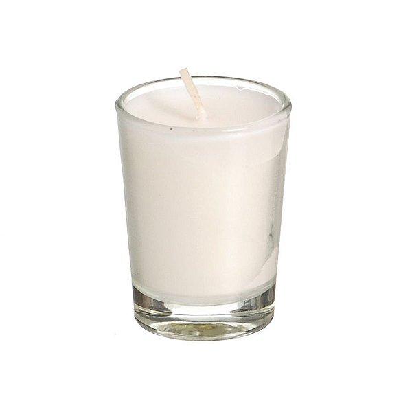 Vela Aroma Vanilla Off White 22g- 01 unidade - Cromus Natal - Rizzo Embalagens