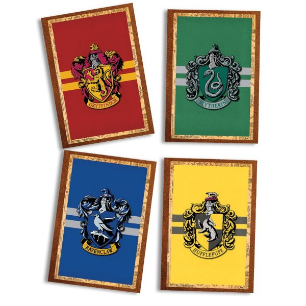 Quadro Decorativo Festa Festa Harry Potter - 04 unidades - Festcolor - Rizzo Festas