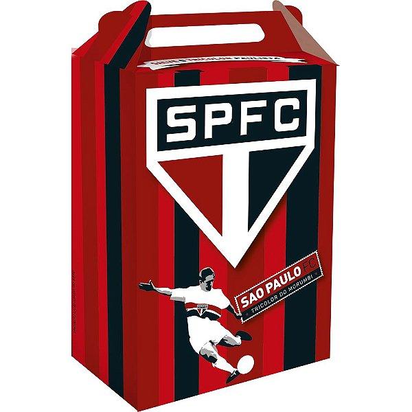 Caixa Surpresa Cubo Festa São Paulo - 8 unidades - Festcolor - Rizzo Embalagens