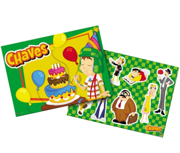 Kit Decorativo Festa Festa Chaves - Festcolor - Rizzo Festas