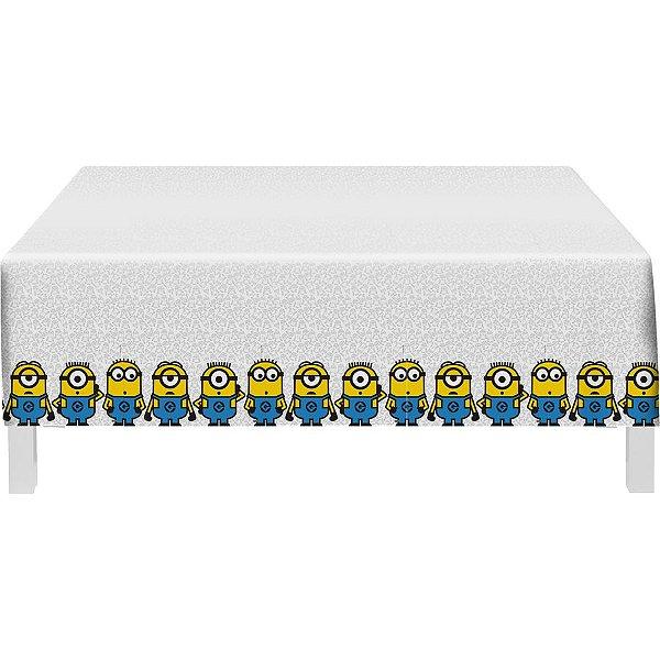 Toalha De Mesa Festa Minions - 01 unidade - Festcolor - Rizzo Festas