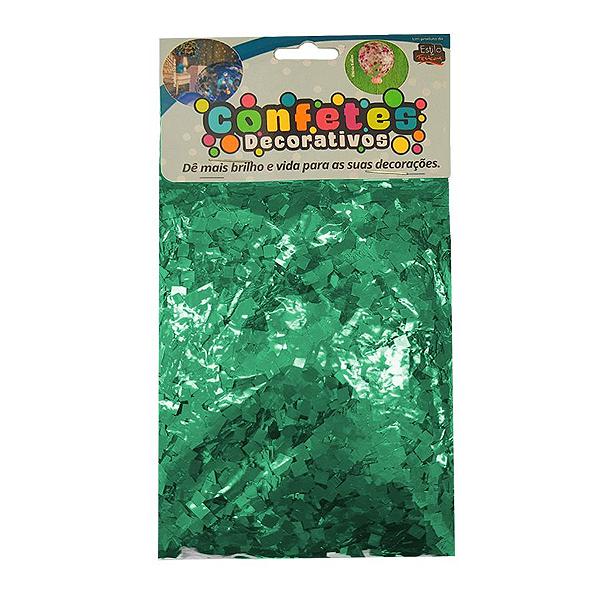 Confete Mini Picadinho Metalizado 25g - Tiffani Dupla Face - Rizzo Embalagens