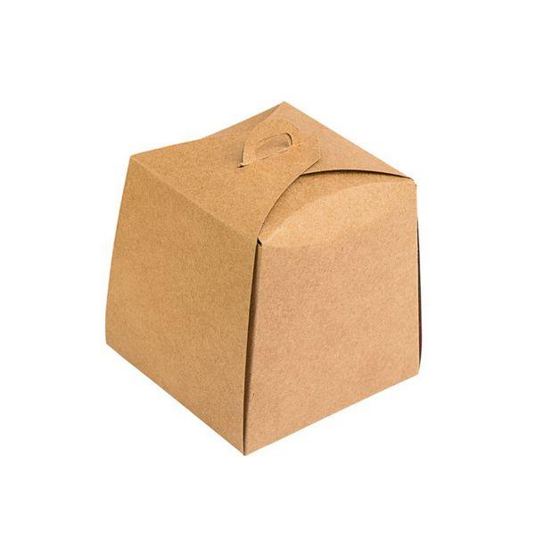 Caixa Panetone Kraft 100g 10x10x10 com 10 un Assk
