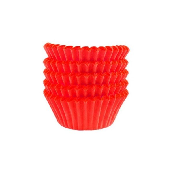 Forminha Gourmet N° 5 Vermelho - 100 unidades - UltraFest - Rizzo Embalagens