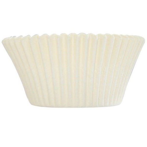 Mini Forminha Forneável CupCake Branco com 54 un. - UltraFest