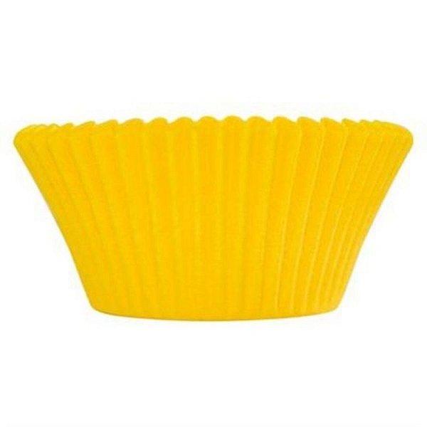 Forminha Forneável CupCake Amarelo com 57 un. - UltraFest