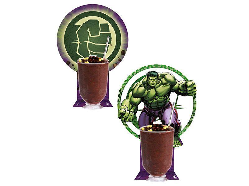 Copinho com Enfeite para Doces Festa Vingadores Hulk - 10 Unidades - Regina - Rizzo Festas