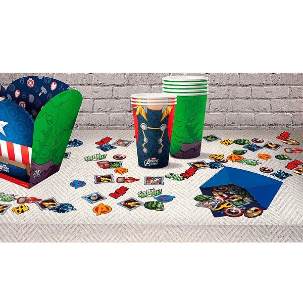 Confete de Papel Festa Vingadores  - Regina - Rizzo Festas