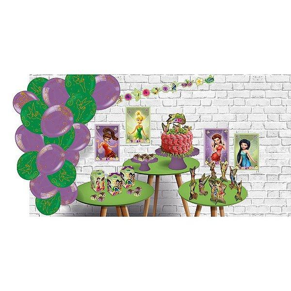 Kit Festa Fadas Disney - Festcolor - Rizzo Festas