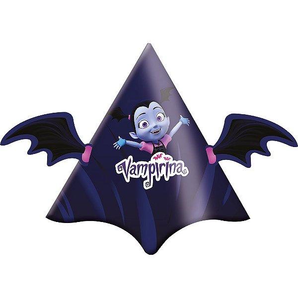 Chapéu Festa Vampirina - 08 Unidades - Festcolor - Rizzo Embalagens