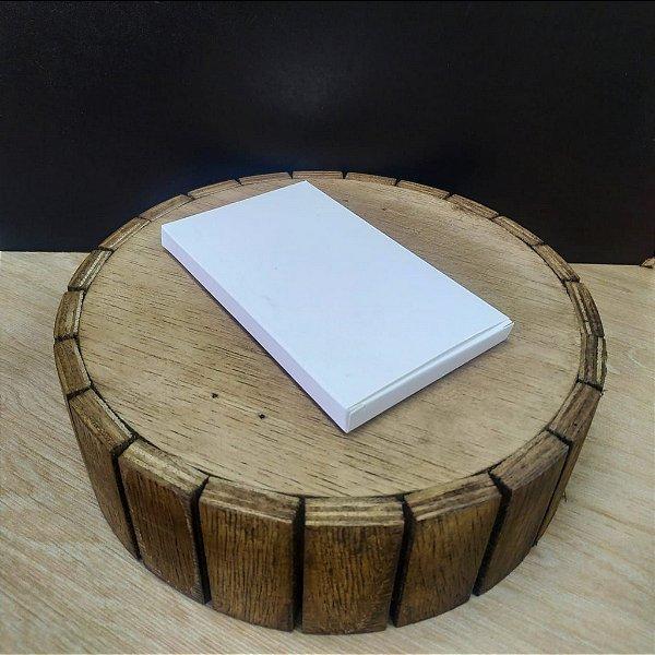Caixa para Tablete de Chocolate - N°1 Branco - Rizzo Embalagens