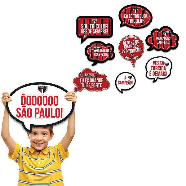 Kit Placas Festa São Paulo - Festcolor - Rizzo Festas