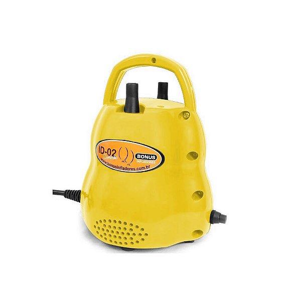 Infladores de Balões ID-02 Doméstic - Amarelo - Bonus Infladores - Rizzo Balões