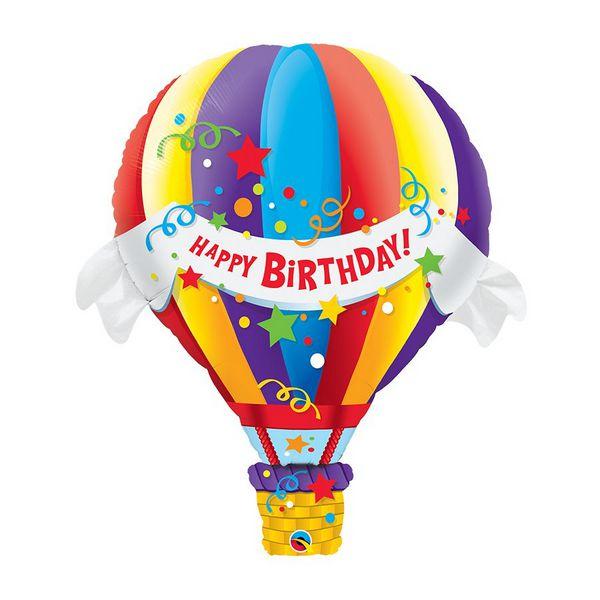 """Balão de Festa Microfoil 42"""" 107cm - Balão de Aniversário - 01 Unidade - Qualatex - Rizzo Embalagens"""