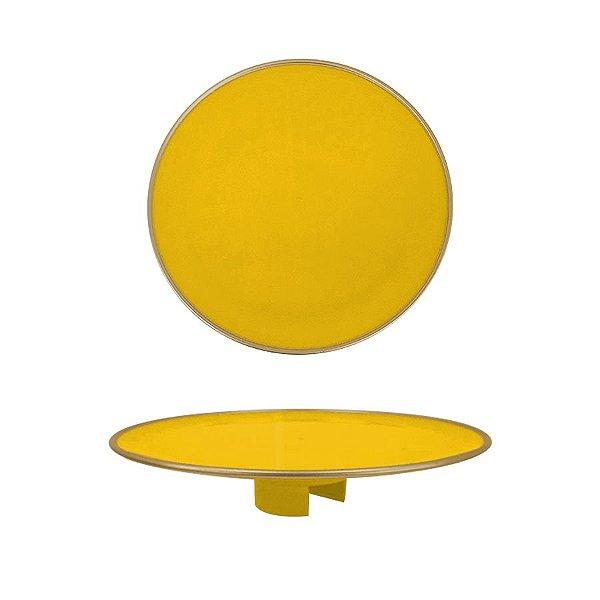 Tampo Boleira - Amarelo Filete - Só Boleiras - Rizzo Embalagens