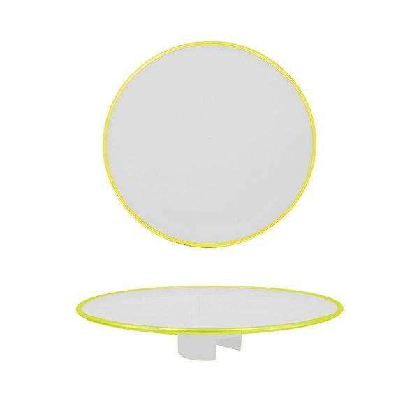 Tampo Boleira - Amarelo Neon Clean - Só Boleiras - Rizzo Embalagens
