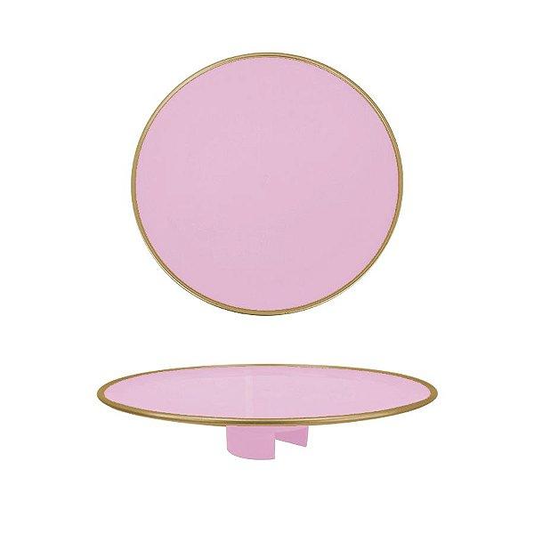 Tampo Boleira - Rosa Claro Filete - Só Boleiras - Rizzo Embalagens