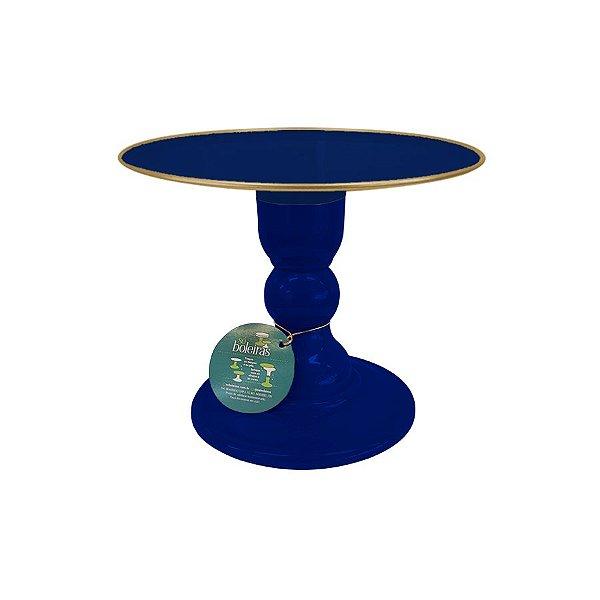 Boleira - Azul Marinho com Filete - Só Boleiras - Rizzo Embalagens