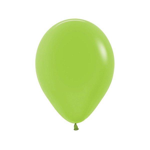 Balão de Festa Látex Neon - Verde - Sempertex Cromus - Rizzo Embalagens