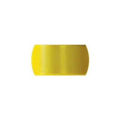 Fita de Cetim Progresso 10mm nº2 - 10m Cor 763 Amarelo gema - 01 unidade - Rizzo Embalagens