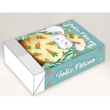 Caixa Divertida para 06 doces - Páscoa Coelho Ternura Ref. 1359 - 10 unidades - Erika Melkot Rizzo Embalagens
