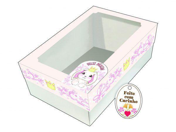 Caixa Ovo de Colher Coroa Ref. 906 - 02 unidades - Erika Melkot Rizzo Embalagens