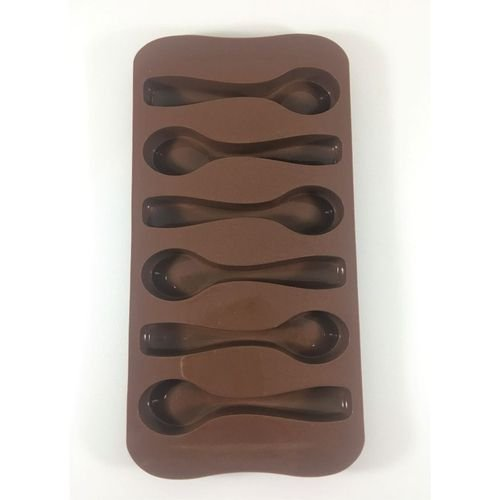 Forma Silicone Chocolate Colher - Eco Lumi - Rizzo Embalagens