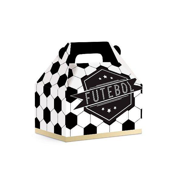 Caixa Maleta Kids M Festa Futebol - 10 unidades - Cromus - Rizzo Embalagens