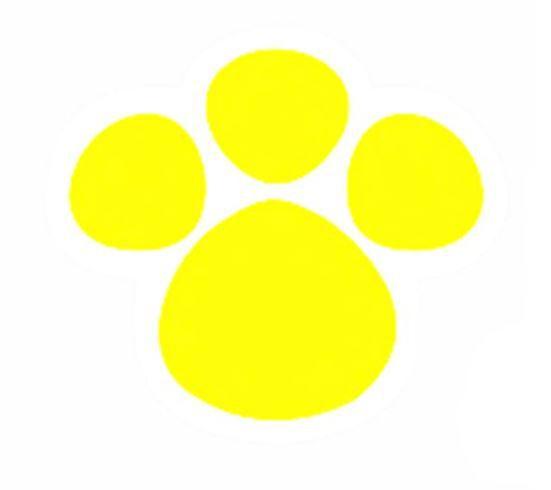 Adesivo Patinha Amarelo M 6,5cm x 6cm - 50 Unidades - Decora Doces - Rizzo Embalagens